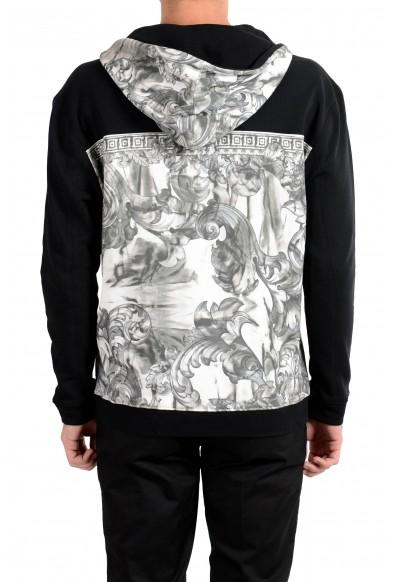 Versace Collection Men's Designed 1/2 Zip Hoodie: Picture 2