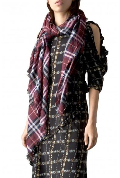 Burberry London Unisex Multi-Color Plaid Wool Shawl Scarf