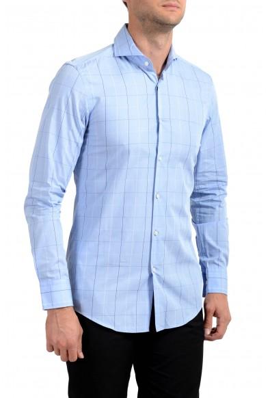 "Hugo Boss Men's ""Dwayne"" Slim Fit Plaid Long Sleeve Dress Shirt"