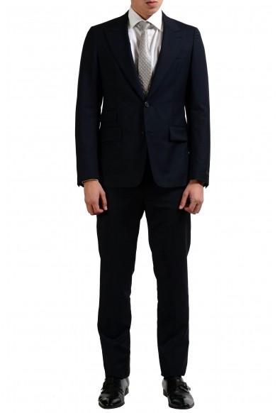 Prada Men's Wool Dark Blue Two Button Suit