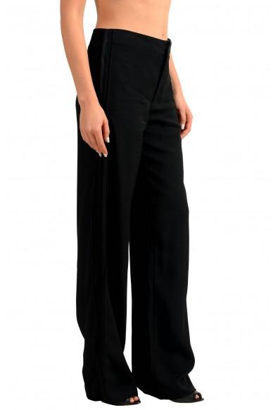 Maison Margiela 4 Wool Black Women's Casual Pants: Picture 2