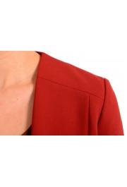 "Hugo Boss Women's ""Jikiva"" Bright Red Buttonless Blazer  : Picture 3"