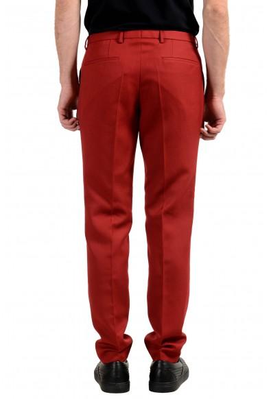 "Hugo Boss ""Reymond/Wenten"" Men's Wool Extra Slim Red Casual Pants: Picture 2"