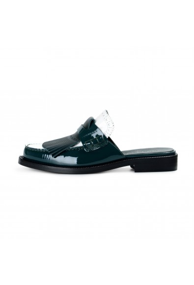 Burberry London Women's BECKSHILL Multi-Color Patent Leather Flip Flop Shoes: Picture 2