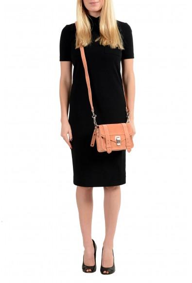 Proenza Schouler Women's Pink Suede Leather Mini Crossbody Shoulder Bag: Picture 2