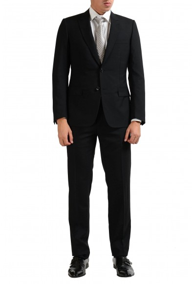 Christian Dior Men's 100% Wool Black Two Button Suit