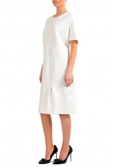 "Hugo Boss Women's ""Ditadara"" White Short Sleeve Shift Dress: Picture 2"