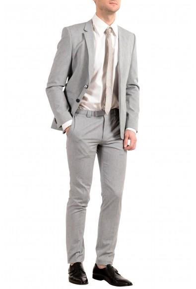 """Hugo Boss """"Arlid/Heilon1"""" Men's Silk Gray Two Button Suit: Picture 2"""