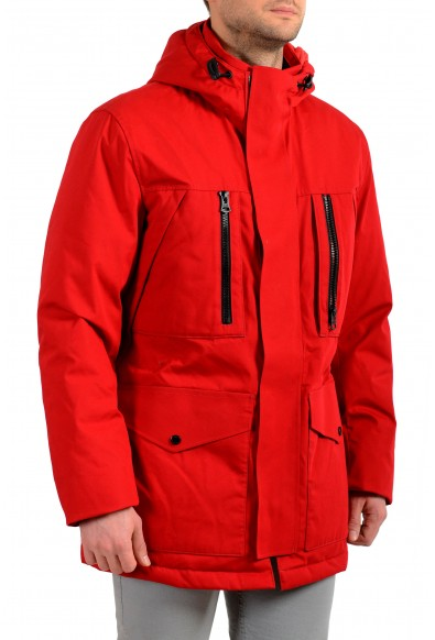 "Hugo Boss Men's ""Donatis"" Hooded Long Down Parka Jacket: Picture 2"