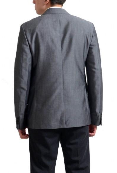 Prada Men's Gray Mohair Wool Two Button Sport Coat Blazer : Picture 2