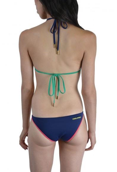 DSQUARED2 Dsquared Women's Multi-Color Two Piece Bikini Swimsuit US L EU 44: Picture 2