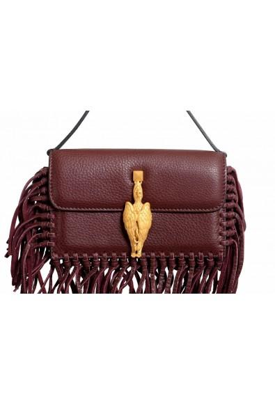 Valentino Garavani Women's 100% Leather Fringe Griffin Handbag Clutch Bag: Picture 2