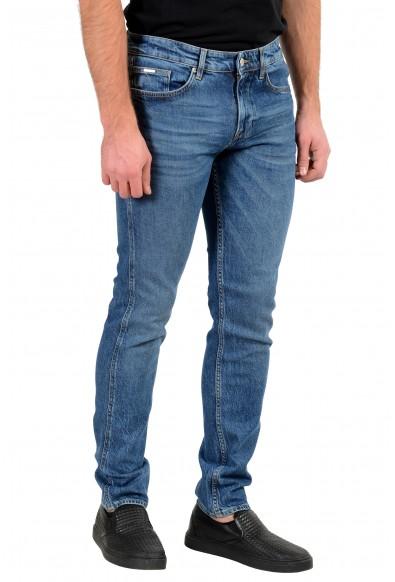 "Hugo Boss Men's ""Delaware3"" Slim Fit Blue Wash Stretch Jeans: Picture 2"