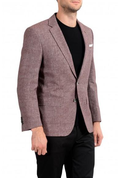 "Hugo Boss ""Janson5"" Men's Linen Two Button Blazer Sport Coat: Picture 2"