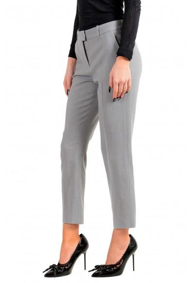 "Hugo Boss Women's ""Tobaluka8"" Gray Wool Dress Pants: Picture 2"