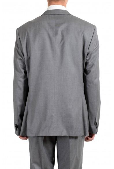 """Hugo Boss """"Huge6/Genius4"""" Men's 100% Wool Gray Slim Two Button Suit: Picture 2"""