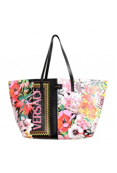 Versace Women's Multi-Color Leather Tote Shoulder Bag