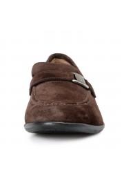 "Salvatore Ferragamo Men's ""Tangeri 2"" Brown Suede Leather Slip On Loafers Shoes: Picture 5"
