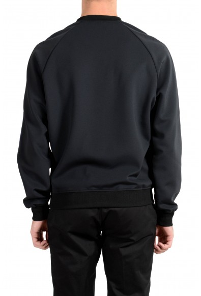 Versace Men's Black Graphic Designed Crewneck Long Sleeve Sweatshirt: Picture 2