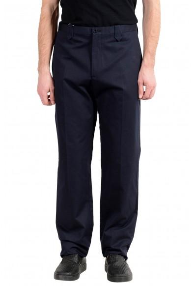 Malo Men's Navy Blue Casual Pants