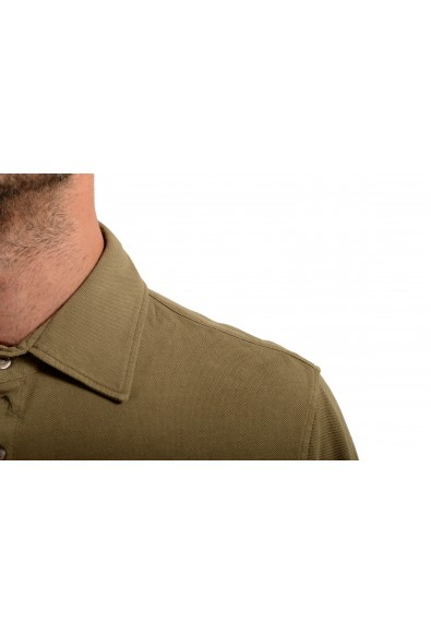 Malo Men's Brown Long Sleeve Casual Shirt: Picture 2
