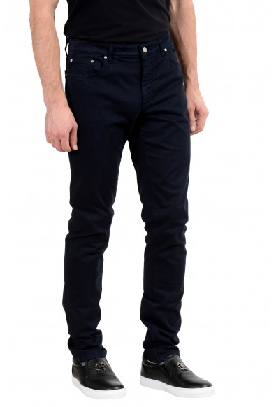 Versace Collection Men's Dark Blue Stretch Slim Jeans: Picture 2