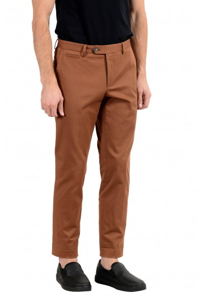 Hugo Boss Men's Brown Stretch Casual Pants : Picture 2
