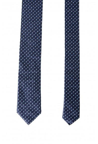 Hugo Boss Men's Multi-Color Floral Print 100% Silk Tie: Picture 2