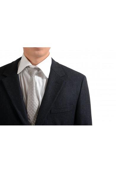 Prada Wool Cashmere Gray Two Button Men's Blazer Jacket: Picture 2