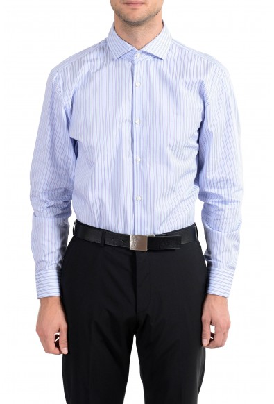 "Hugo Boss ""Mark US"" Men's Striped Sharp Fit Long Sleeve Dress Shirt"