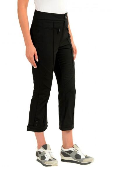 Moncler Women's Black Winter Cropped Pants: Picture 2