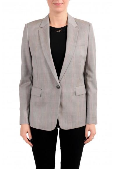 """Hugo Boss """"Janufa1"""" Women's 100% Wool One Button Blazer"""