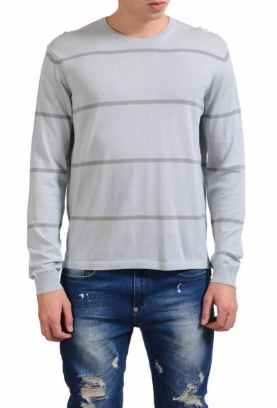 Malo Men's Crewneck Striped Light Sweater