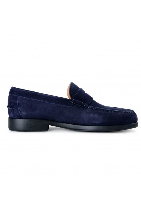 Salvatore Ferragamo Men's Ferro Suede Leather Loafers Moccasins Slip On Shoes: Picture 4