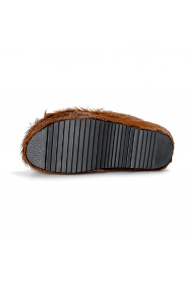 Marni Women's Real Fur Leather Flip Flop Sandals Shoes: Picture 2
