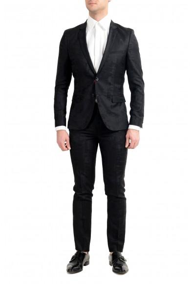 """Hugo Boss """"Art/Hesten182"""" Men's 100% Wool Extra Slim Two Button Suit"""