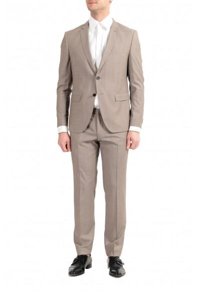"""Hugo Boss """"Reymond/Wenten"""" Men's 100% Wool Beige Two Button Suit"""