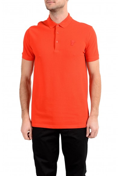 Versace Collection Men's Red Short Sleeve Polo Shirt