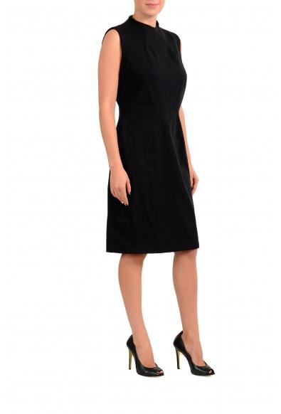 "Hugo Boss Women's ""Kihara"" Black Stretch A-Line Dress : Picture 2"