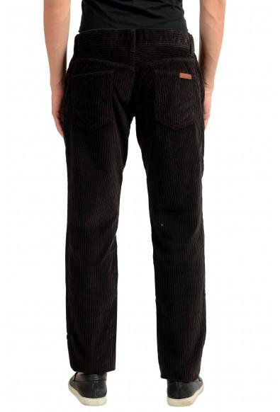 Dolce & Gabbana Men's Dark Brown Corduroy Casual Pants : Picture 2