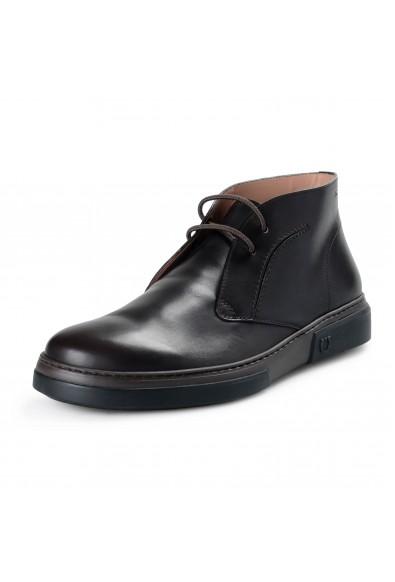 """Salvatore Ferragamo Men's """"Alder 2"""" Leather Ankle Boots Shoes"""