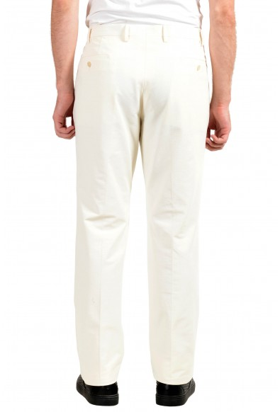 Versace Collection Men's White Dress Stretch Pants: Picture 2