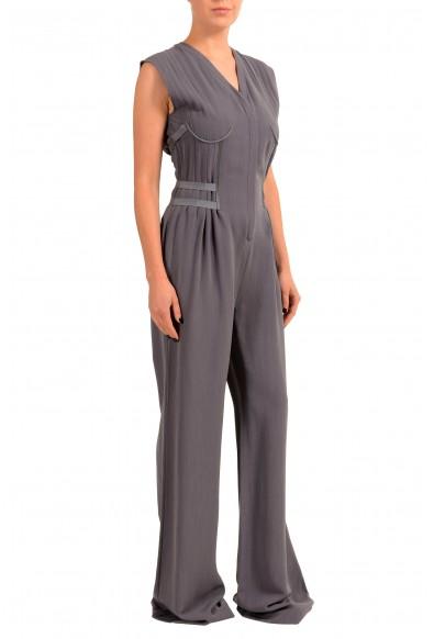 Maison Margiela 1 Women's Purple Wool Sleeveless Jumpsuit: Picture 2
