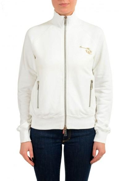Dsquared2 Women's White Full Zip Track Jacket