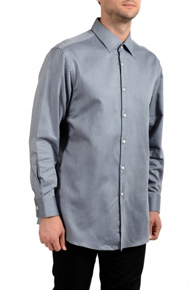 Hugo Boss Men's Marley US Sharp Fit Striped Long Sleeve Dress Shirt