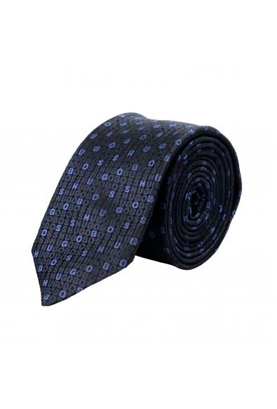 Hugo Boss Men's 100% Silk Logo Print Tie