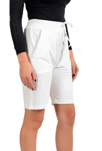 Dsquared2 Women's White Sweat Shorts: Picture 2