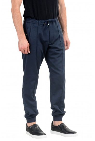 "Hugo Boss ""Lukes4"" Men's Blue Slim Fit Casual Pants: Picture 2"