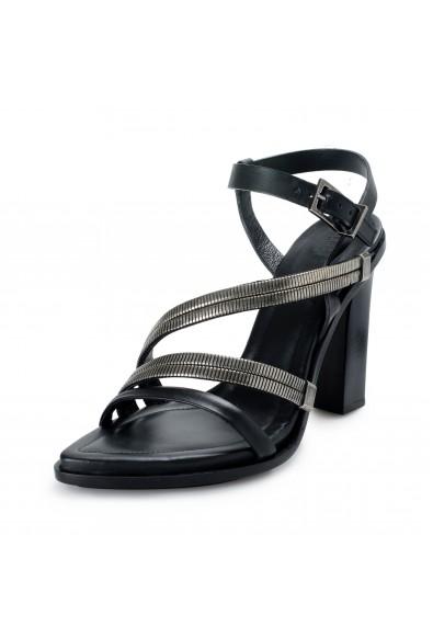 Versace Versus Women's Strappy High Heels Sandals Shoes