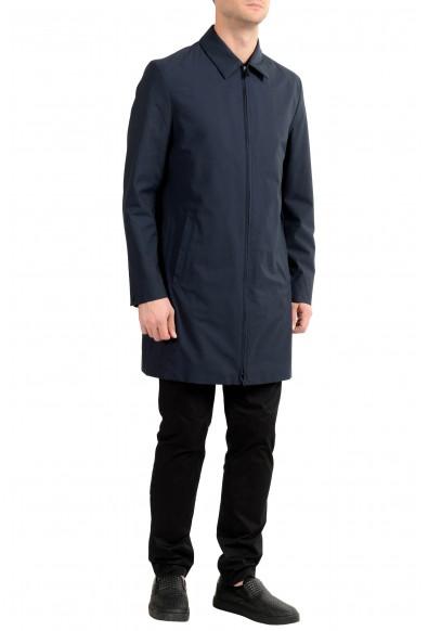 """Hugo Boss """"Morgan1841"""" Men's Navy Blue Full Zip Coat: Picture 2"""